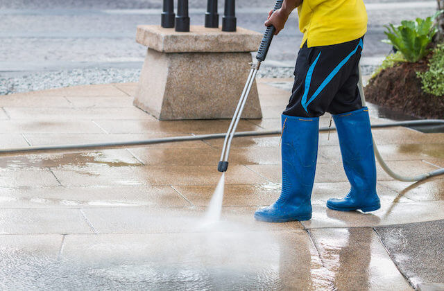 commercial cleaning spring field